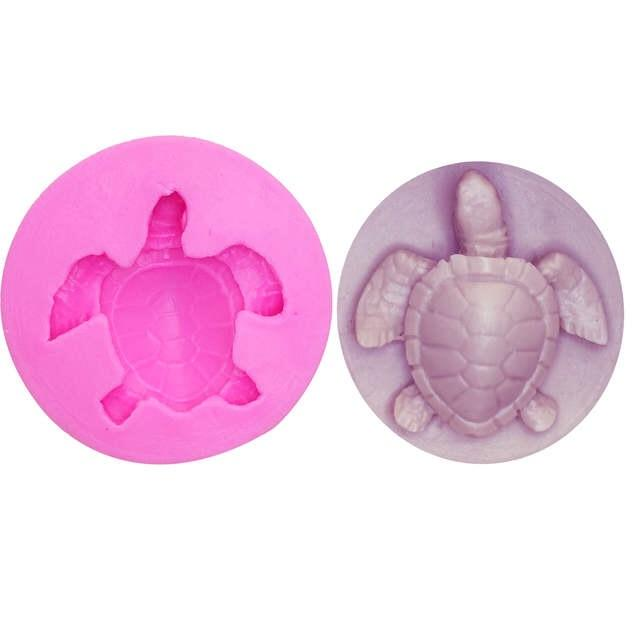 Turtle Silicone Mold | 1.5 Inch-Silicone Molds-Bakell