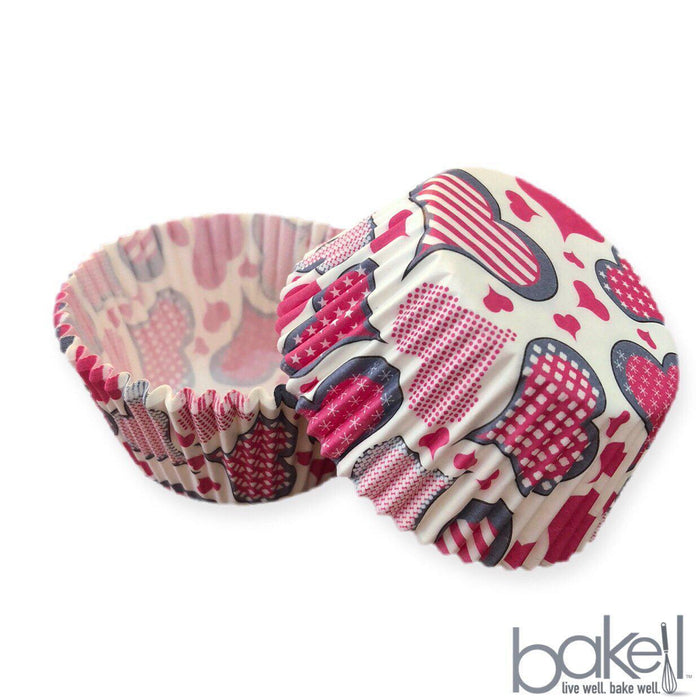 Valentines Paper Cupcake Wrappers & Liners | Bakell.com