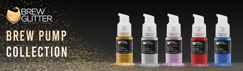 Edible Cocktail Glitter Spray Pump | 100% Edible glitter for beer, wine, cocktails & champagne | FDA Approved & Kosher Certified | Bakell.com