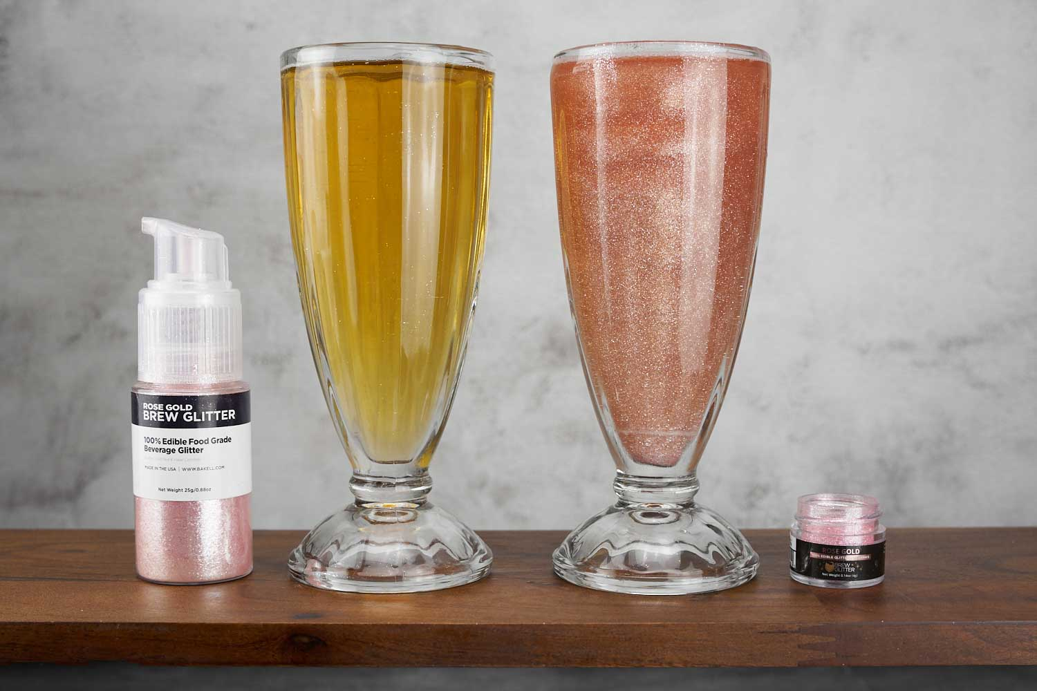 Brew Glitter International Beer Day Edible Drink Glitter, 100% Edible, FDA approved Drink Glitter, Beer Day, rose gold, maroon, silver, gold, blue