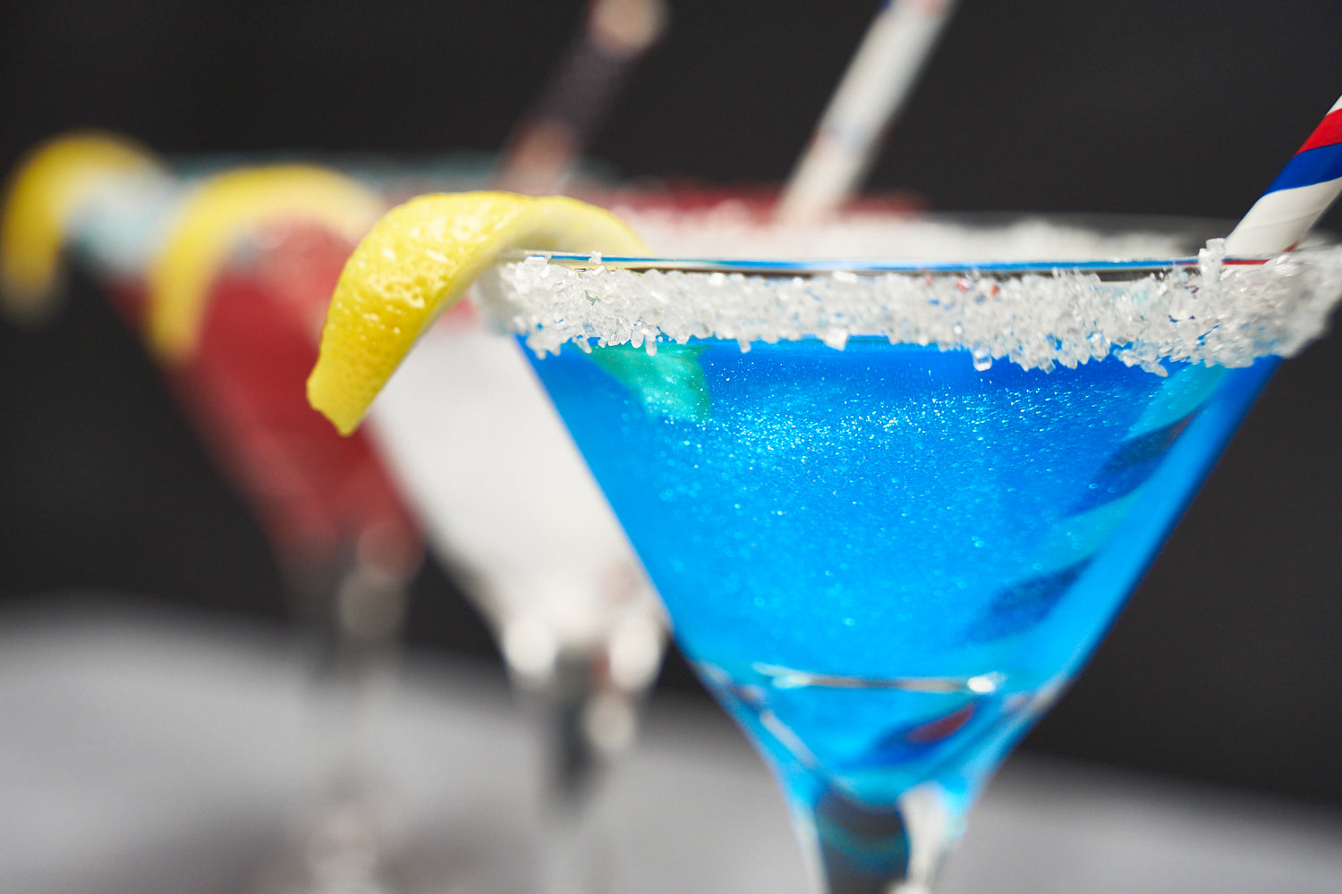 Sweet Patriotic 4th of July Martini Bakell