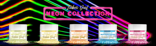 100% FDA Approved Neon Edible Glitter | Bakell | Made In USA Glitter | Manufacturer