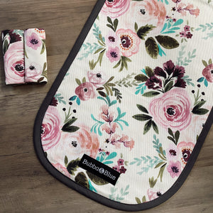 vintage floral stroller seat liner cover for city select , uppabbay and valco baby strollers