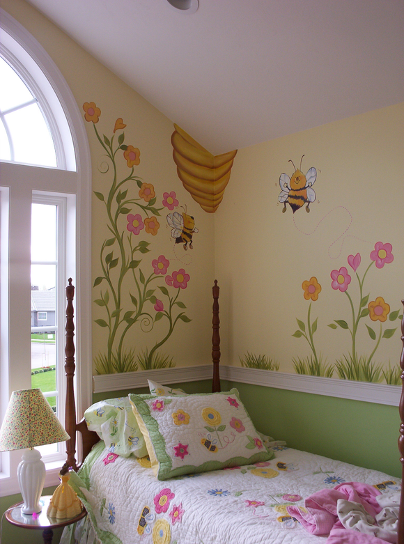 Busy Bee Baby's Room
