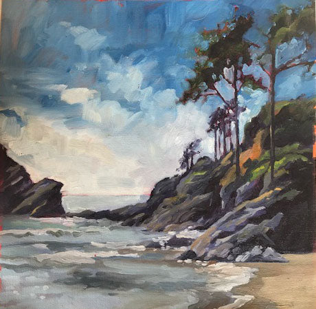 Heceta Head Beach- Reproduction