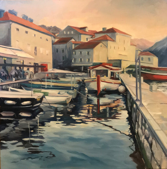 Perast Montenegro Giclee Reproduction