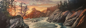 South Coast Evening - Reproduction