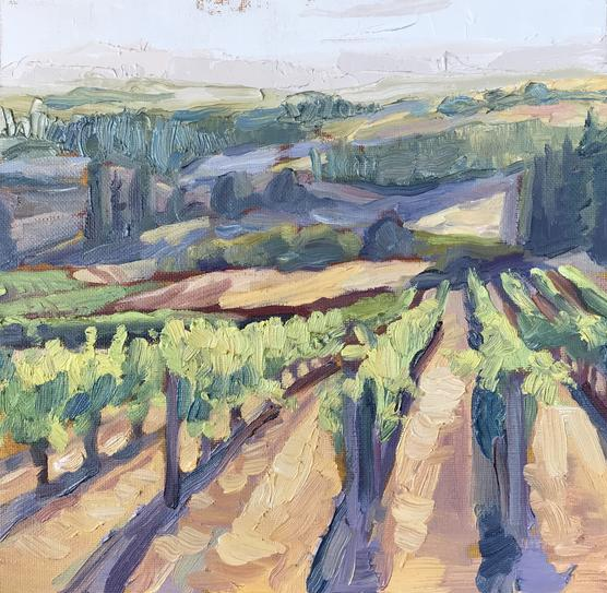 Willamette Valley Vineyard - Reproduction