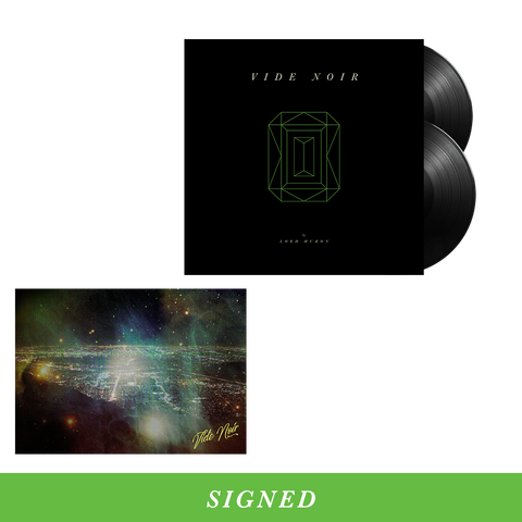 Vide Noir Standard Vinyl + Digital Download + Signed Postcard