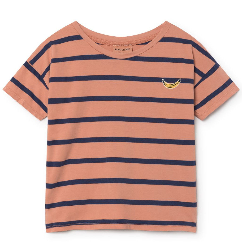 Bobo Choses | Breton Stripes Short Sleeve T-Shirt