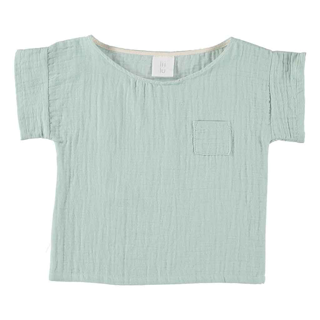 Liilu | Pocket shirt | Mint
