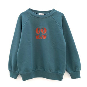 Longlivethequeen | Raglan Sweater | Dark Green