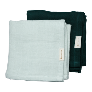 Fabelab | Mulltuch Muslin Cloth 2er Pack | Sprout
