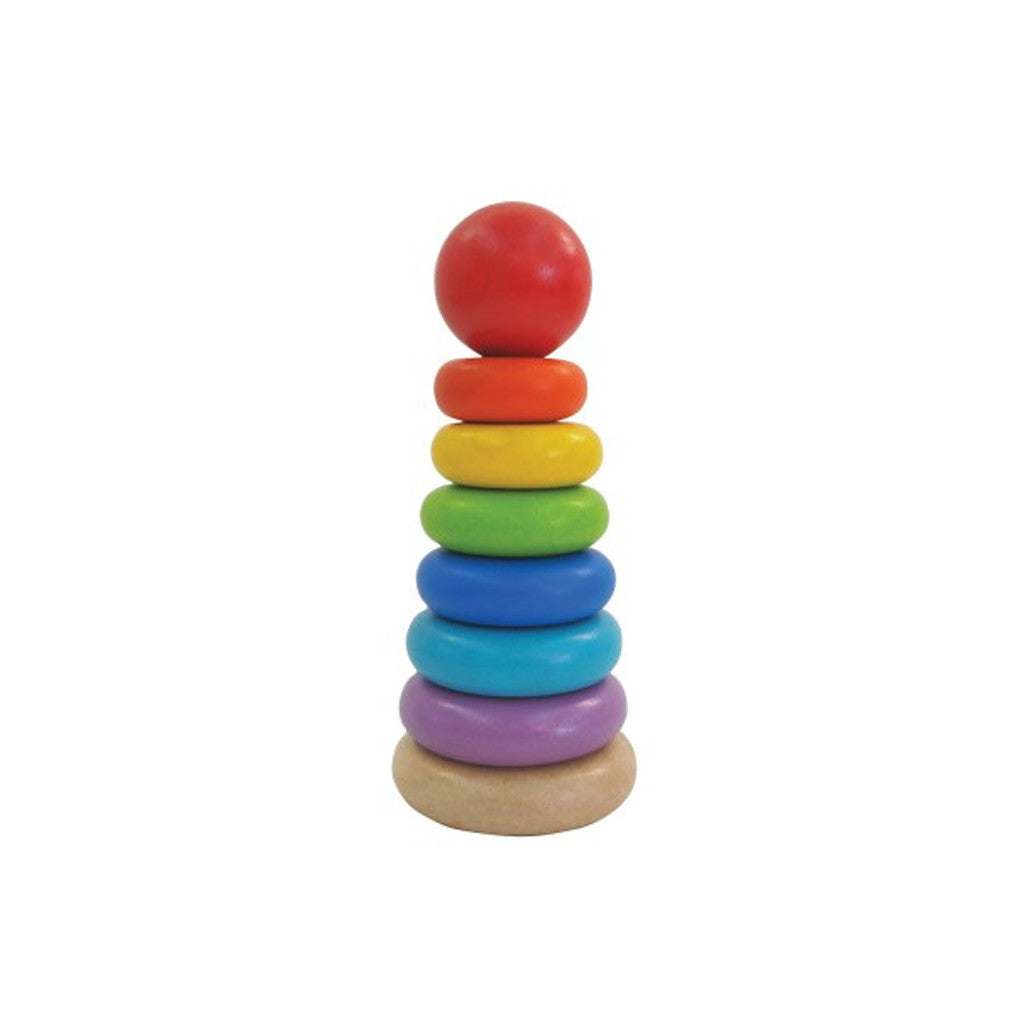 PlanToys | Stacking Ring | Farbenpyramide