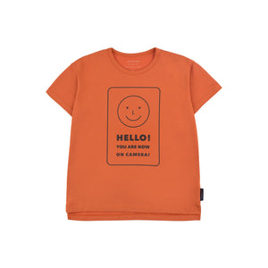 Tinycottons | Shirt 'hello' | Orange