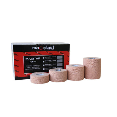 Maxiplast Hand Tearable Adhesive Bandage - Flesh
