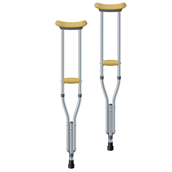 Underarm Adjustable Crutches
