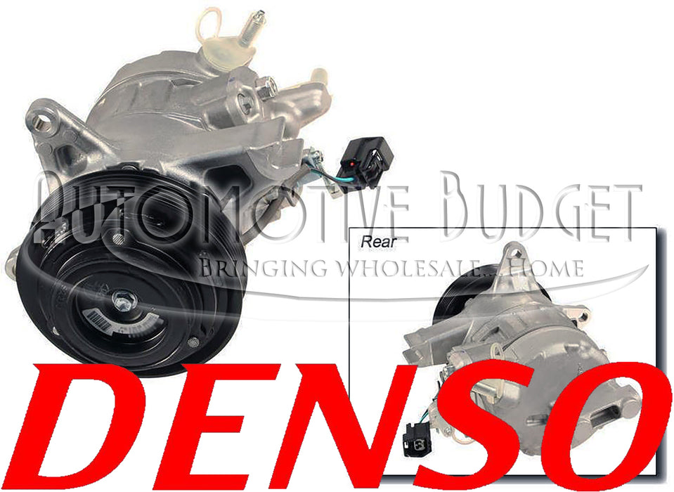 A/C Compressor & Parts for Buick Lucerne w/4.6L & Cadillac DTS