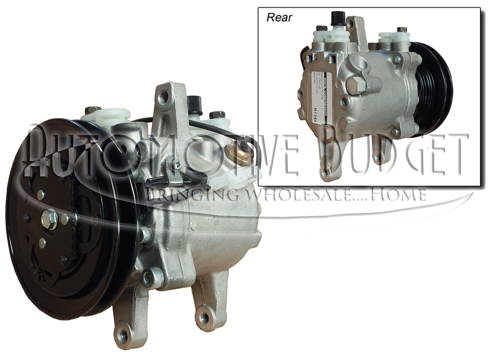 A/C Compressor and Parts for Kubota B, L, & M Tractor & SVL Skidsteer