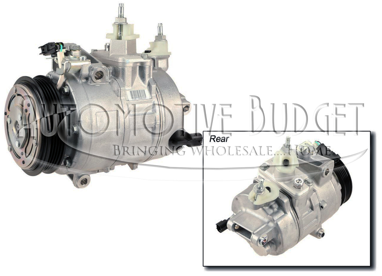 A/C Compressor & Parts for Ford Edge Fusion & Lincoln MKZ