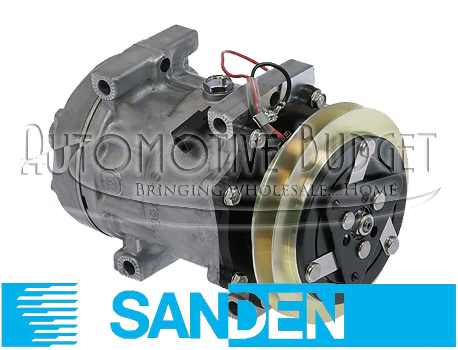 A/C Compressor w/Clutch for Case/IH and Ford/New Holland