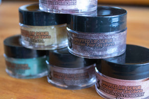 Sugar Lip Scrub - Group Side - Pristine Thirteen Naturals