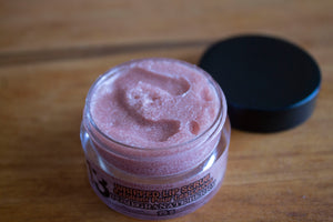 Pink Grapefruit Whipped Sugar Lip Scrub - Top - Pristine Thirteen Naturals
