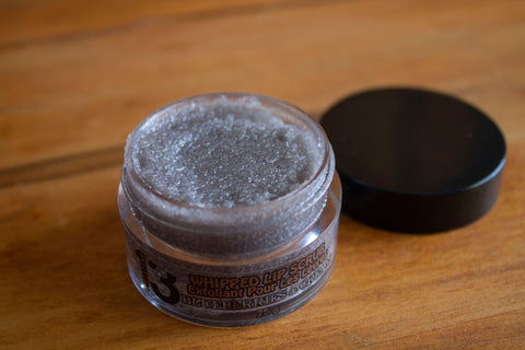 Blueberries & Cream Sugar Lip Scrub - Pristine Thirteen Naturals