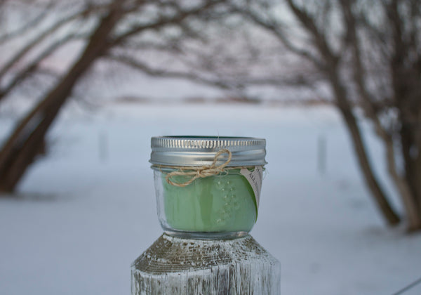 Peppermint Lime Soy Candle