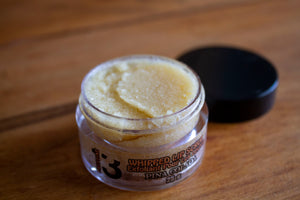 Lemon Guava Whipped Sugar Lip Scrub - Front - Pristine Thirteen Naturals