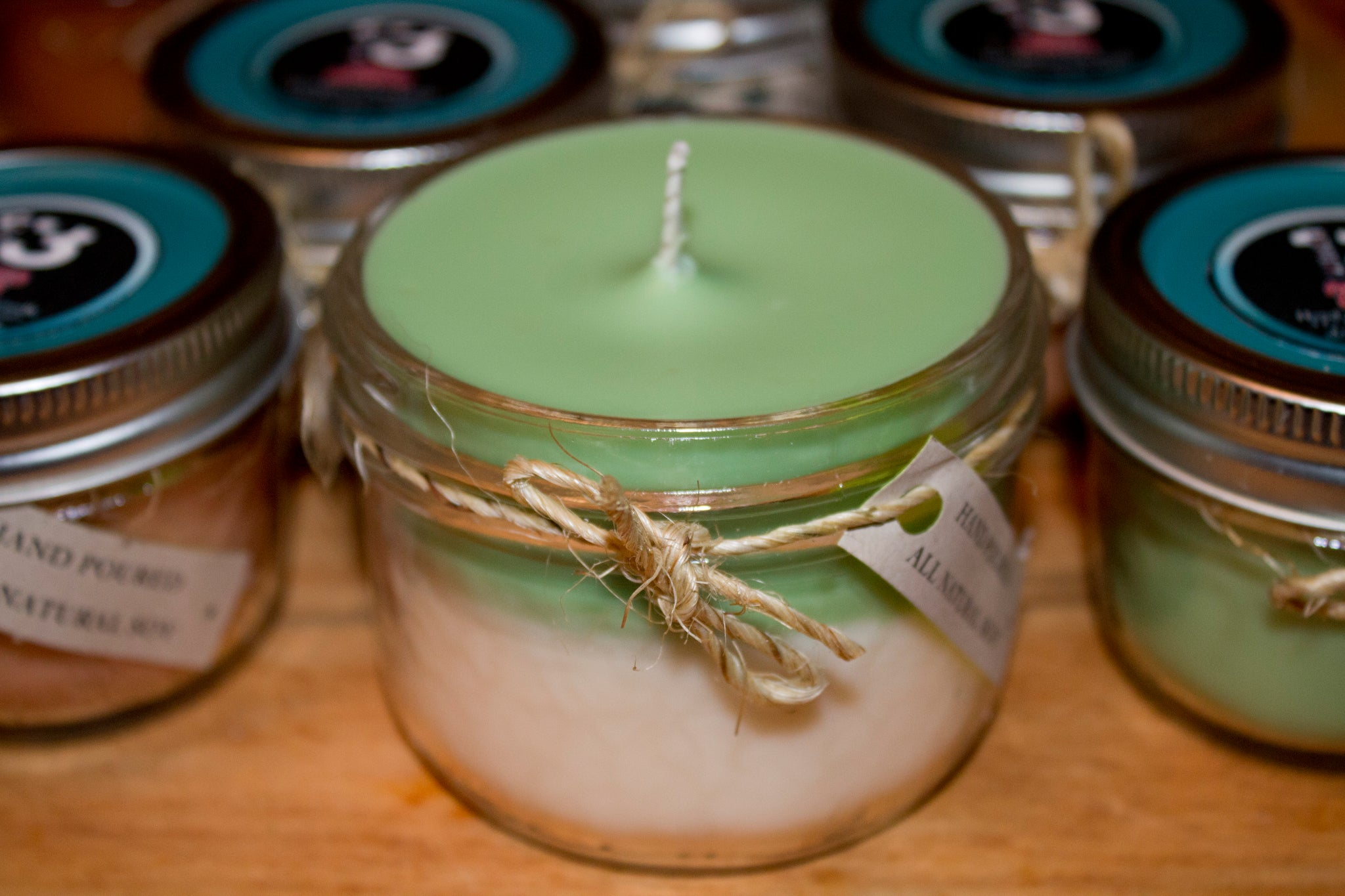 Spicy Iced Evergreen Soy Candle