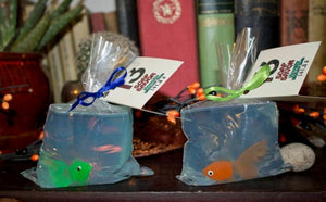 Fish In A Bag - Novelty Soap - Pristine Thirteen Naturals