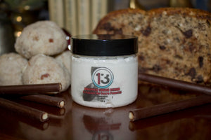 French Vanilla Mocha Whipped Sugar Scrub - Pristine Thirteen Naturals