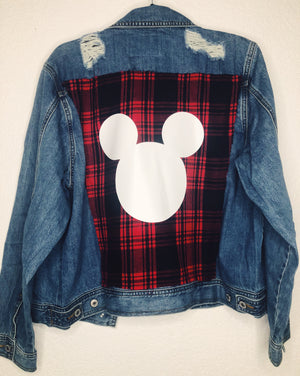 Grunge Mickey Denim