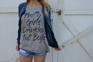 Pretty Girls Drinking Tall Boys Tank