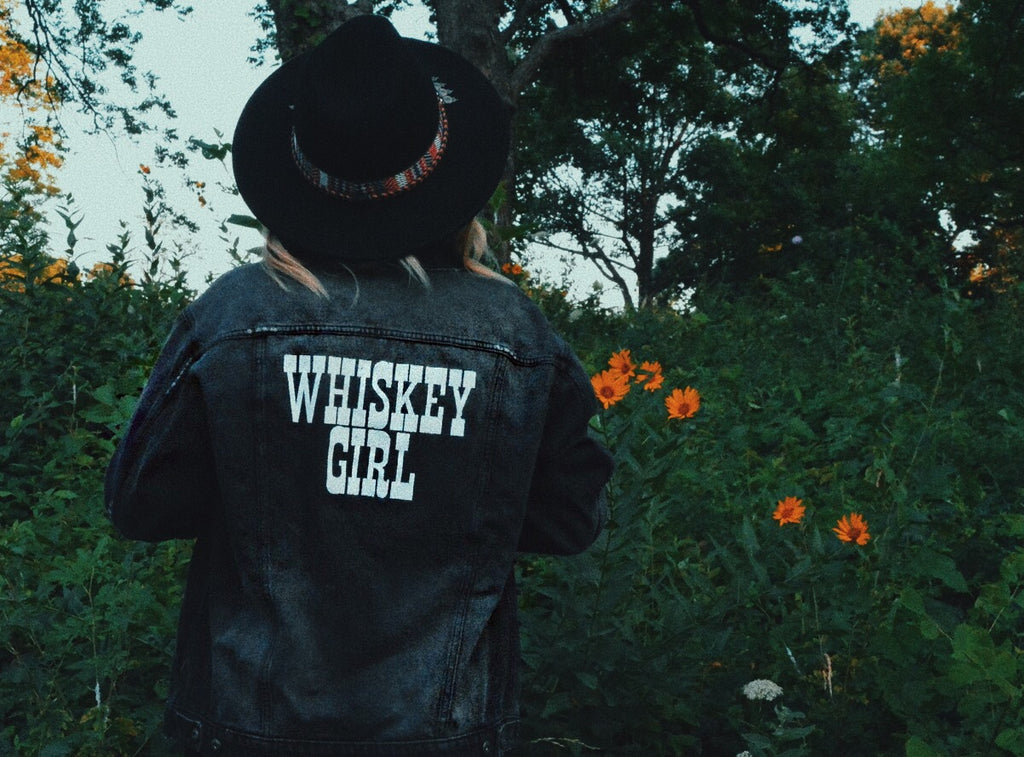 Whiskey Girl Denim Jacket