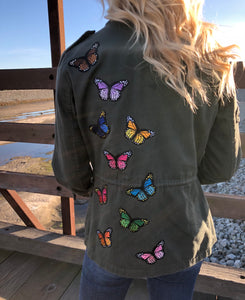 Butterfly Military Jacket