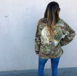 Up-cycled Vintage Army Jacket