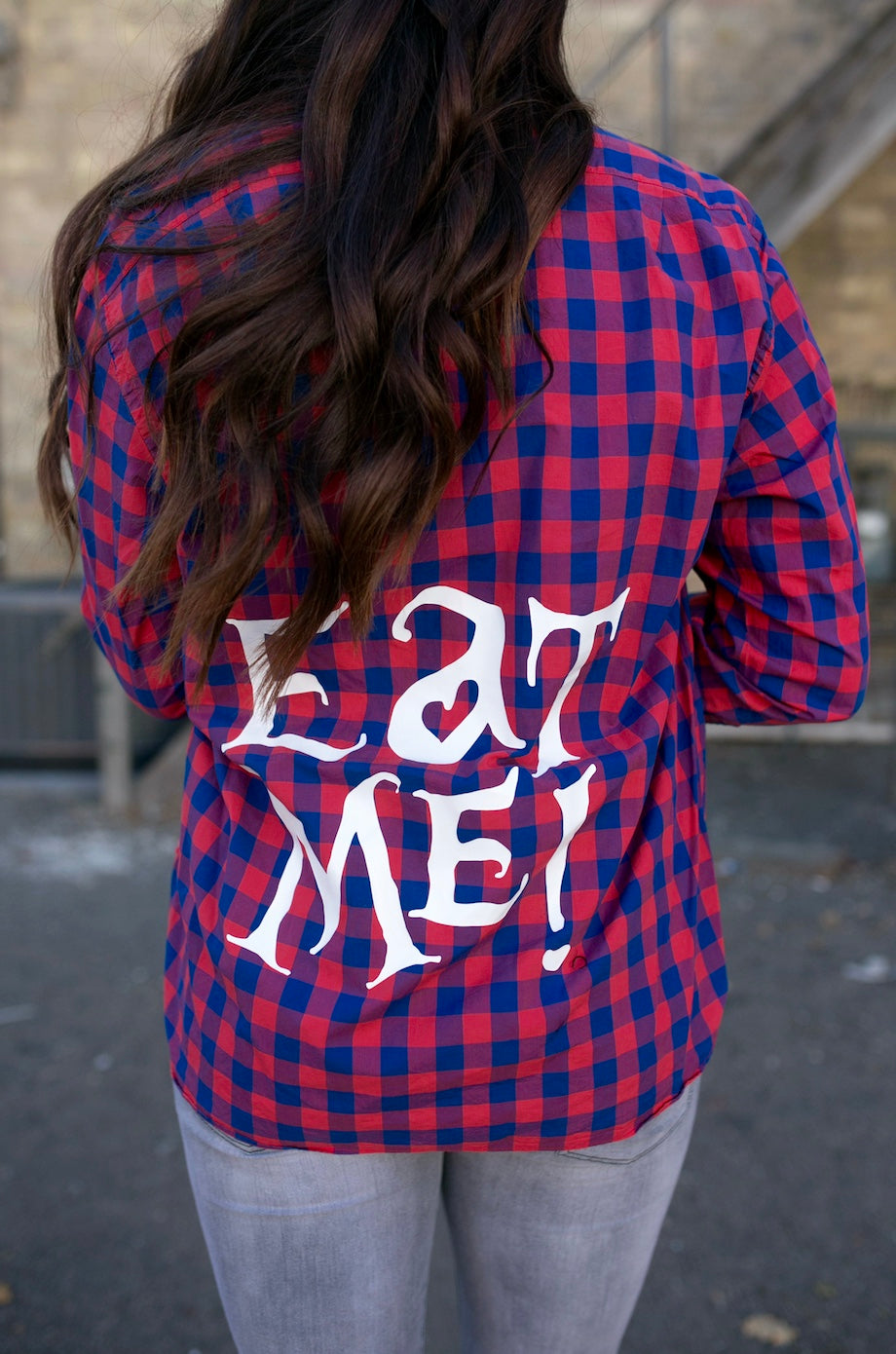 Eat Me Flannel - Checker