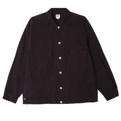 Wilson Shirt Jacket Black | OBEY Clothing
