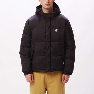 Fellowship Puffer Jacket Black | OBEY Clothing