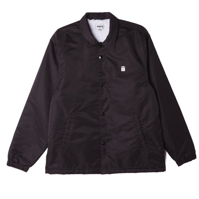 Icon Flight Satin Jacket Black | OBEY Clothing