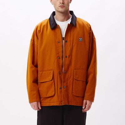 Far Hunting Jacket Pumpkin Spice | OBEY Clothing