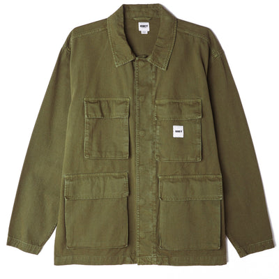 Peace BDU Jacket Army | OBEY Clothing
