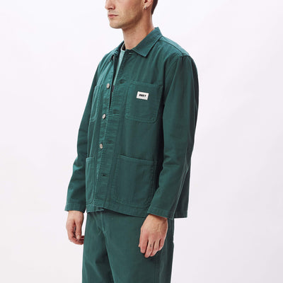 Marshall Jacket Mallard Green | OBEY Clothing