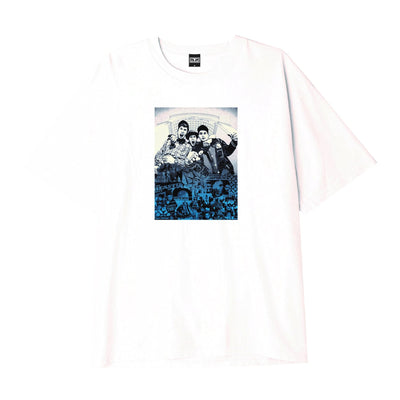 Obey Beastie Boys Basic T-Shirt White | OBEY Clothing