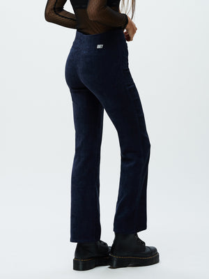 Gordan Zip Pant Navy | OBEY Clothing