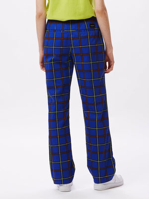 Bailey Pant Cobalt Multi | OBEY Clothing
