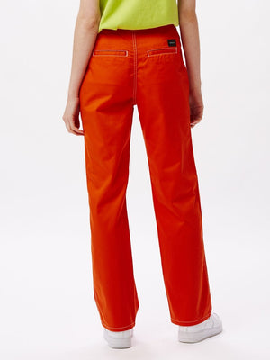 Bailey Pant Flame Orange | OBEY Clothing