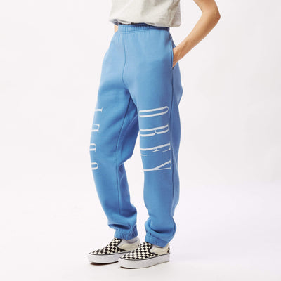 New Box Fit Sweatpant Columbia Blue | OBEY Clothing
